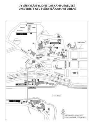 Opetuspaikat ja pysäköinti
