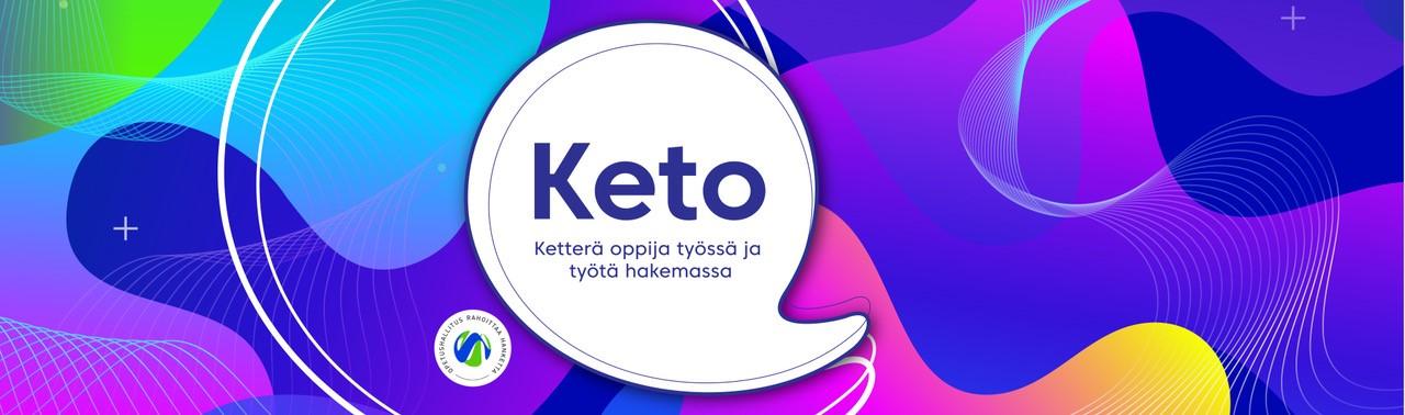 Keto-hankkeen bannerikuva